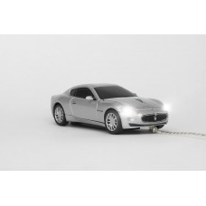 Maserati Gran Turismo Silver Wired OPTICAL MOUSE
